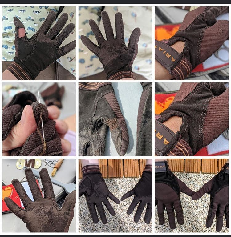 Gloves that live on